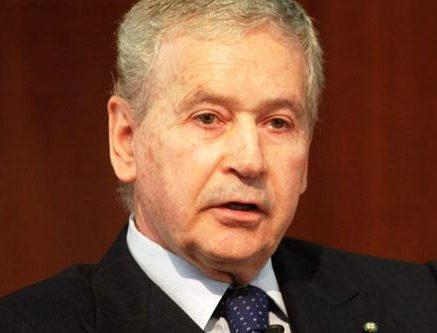 Saluto del Presidente dell'Associazione Cavalieri di Gran Croce, Giovanni Castellaneta
